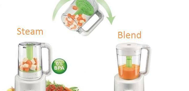 Avent-Blender &  Steamer drp FB Arlizha Arip